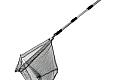 Thumbnail : Alu Angelkescher 1,95m Teleskop Kescher Netz Teich Angelnetz Unterfangskescher für 13,98€ inkl. Versand